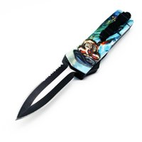Wholesale skull self defense for sale - Group buy autoTF Special forces C blade skull handle double action hunting folding fixed blade Knife Survival Knife Xmas gift C156 Southard
