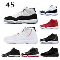 detailed look 4620e 79601 11 White Navy Gum Basketball Schuhe 11s gezüchtet Georgetown 2018 Space Jam  Citrus GS Turnschuhe Frauen Männer rtros 36-47 Athletic XI Nike Air Jordan  Retro ...