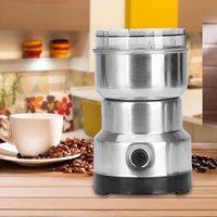 Wholesale chinese grinder for sale - Group buy 220V W Home Stainless Steel Body Electric Coffee Grinder for Bean Chinese Medicines