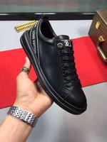 dicke sportschuhe am niedrigsten großhandel-Casual Schuhe für Frühling und Sommer 2019i, Trend-Low-Top-Schuhe, bequeme Sportschuhe mit dicken Sohlen, Originalverpackung 38-44