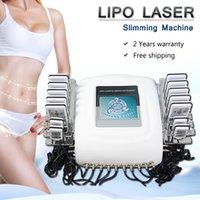 máquina de emagrecimento de forma de corpo venda por atacado-Lipo Laser fino laser corpo Funciona diodo máquina de emagrecimento moldar i Lipo Laser Mitsubishi diodo portátil