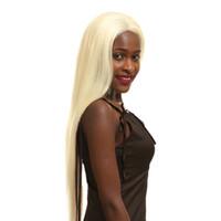 insan perukları fabrikası toptan satış-Sıcak Satış Sarışın İnsan Saç Peruk 613 Dantel Açık Peruk 13 * 4 13 * 6 İnç Dantel Gerçek Doğal İçin Kadınlar Fabrika Doğrudan 8-24inch