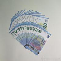 ingrosso bicicletta del metallo giocattolo-billetta finto, 10 20 50 100 euro, soldi falsi, billette euro 20, il denaro film, giocare con soldi