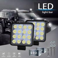 barras de camiones al por mayor-Nueva luz de inundación del LED campo a través 12V 24V 48W Luces de trabajo LED Car Truck 4x4 ATV tractor Led luz de trabajo Bar Lámpara de niebla de inundación