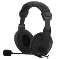 skype için mikrofon toptan satış-skype sesli video için Mikrofon ile konuşulur kılmak Bilgisayar Kulaklık Oyun Müzik Kulaklık Kulaklık