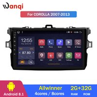 Wholesale android car dvd for toyota corolla for sale - Group buy 2G RAM G ROM Inch Android Multimedia System For Toyota Corolla Stereo Car GPS DVD player