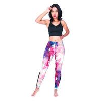 ingrosso allenamento delle ragazze nere-Donna Leggings Marmo Rosso Nero Indietro 3D Digital stampati full stretch pantaloni a matita Lady Sportwear Jeggings Girl Workout Yoga Pants (Y54210)