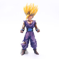Wholesale gohan action figures for sale - Group buy Anime Doll Dragon Ball Action Figure Z Super Saiyan Son Gohan Master Stars Piece Collectible Model cm mf F1