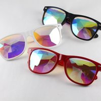 Wholesale nails girls for sale - Group buy Kaleidoscope Sunglasses Kids Retro Nail Sunglasses Men Women Fantasy Eyewear Fashion Music Festive Party Decorative Glasses GGA2208