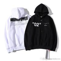 tendencia de los hoodies al por mayor-Moda de lujo con capucha para hombre diseñador 19SS nueva tendencia sudaderas con capucha hip hop calle jersey marca con capucha suéter algodón pareja casual sudadera tops