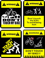 CHOOSE LIFE DON/'T TOUCH MY BIKE VINYL DECAL STICKER CHOOSE COLOR FREE SHIPPING