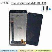 vodafone grátis venda por atacado-Substituição para Vodafone inteligente E8 VFD510 LCD Touch Screen Assembly digitador com ferramentas livres 100% testado