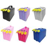 Wholesale 72 pencils for sale - Group buy Pencil Bag Zipper Drawing Sketching Pen Storage Case Multilayer Holes Multifunction Pencilcase Office School Stationery