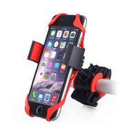 фиксирующий кронштейн оптовых-Держатель для мобильного телефона на горном велосипеде Mount lock Держатель для мобильного телефона Держатель универсальный для GPS iPhone Samsung с розничной упаковкой