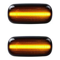 volkswagen golf placa de luz da placa venda por atacado-2pcs equential LED Side Indicador marcador Luz Compatível com Audi A4 S4 B6 RS4 B7 TT 8J Roadster A3 8P A6 Allroad S6 C5 A8 D3