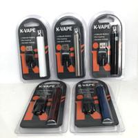 Wholesale k electronics for sale - Group buy New K Vape mAh Preheating Battery Electronic Cigarette Thread Preheat Battery vape pen adjustable Voltage for Thick Oil Cartridge