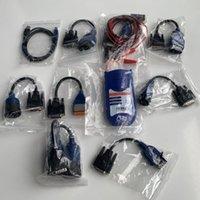 ingrosso scanner per camion nexiq-Strumento diagnostico NEXIQ USB link truck 125032 usb con tutti gli adattatori dhl spedizione gratuita di alta qualità scanner per camion nexiq