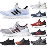 reloj multi color mujer al por mayor-Adidas ultra boost 2019 Venta caliente 4.0 Zapatillas de running para mujer, para hombre, White Walker, zapatos de color blanco borgoña, de entrenamiento, triple negro, blanco,