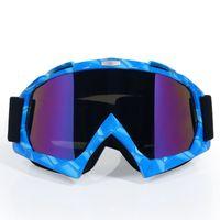satış kaskları toptan satış-SıCAK satış motokros kask gözlük gafas moto çapraz dirtbike motosiklet kaskları gözlük gözlük kayak pateni gözlük