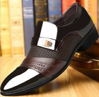 дышать свободно оптовых-Высокое качество человек свободно дышать безопасности кожаные ботинки с Бесплатная доставка черный и Brwon цвет