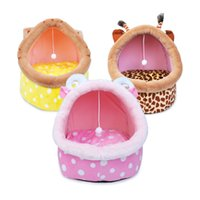 Wholesale toy stable resale online - Super Stable Cat Tower House Combined with Cat Bed Cat Climber Peek Holes Scratching Post Dangling Toy