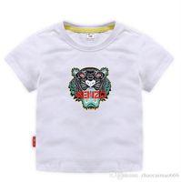 t-shirts pour bébé achat en gros de-TRGU Nouvelle Marque Designer 2-9 Ans Bébés Garçons Filles T-shirts Eté Chemise Tops Enfants Tees Enfants chemises Vêtements A01