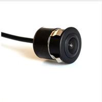 câblage de caméra de vue arrière achat en gros de-2019 nouvelle vision arrière de voiture vision nocturne étanche caméra infrarouge de stationnement automatique infrarouge arrière fil HD CCD 170 degrés