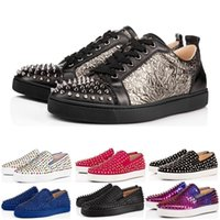2c6d83914290 Wholesale glitter tennis shoes for sale - Group buy New Arrival Designer  luxury fashion Brand Red