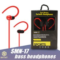 Wholesale super tablet for sale - Group buy Sport Earphone SMN17 Earbuds Hearphones with Mic Super Bass Wired Denoise Headset mm for android smartphones MP3 MP4 Tablet in Retail Box