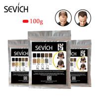 keratin tozu toptan satış-Sevich 100g saç dökülmesi ürün saç bina lifleri keratin kel unsex için 30 saniye kapatıcı tozu uzatma kalınlaştırmak için