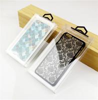 iphone 4.7 5.5 protetor de tela venda por atacado-Protetores de telefone do PVC casos de embalagem iphone 6 7 8 capa para 4.7 5.5 polegadas tela DHL