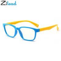 Wholesale baby goggles glasses for sale - Group buy Zilead Silicone Soft Glasses For Baby Girl Boy Antiblue Ray Clear Lens Eyewear Eye Protector Children Glass Frame Goggles Oculos