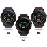 мужские фиолетовые часы оптовых-Высочайшее качество SW002 умные часы Мужские Женские водонепроницаемые спортивные часы открытый упражнения Шагомер Мониторинг браслете для Android IOS