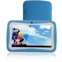 android quad pad großhandel-Neueste 7 zoll Kinder Tablet PC RK Quad Core 8G ROM Android 4.4 Mit Kinder Educational Apps Dual Kamera PAD für Kinder tablet