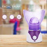 ingrosso nano spruzza la pelle idratante-Donne Viso Steamer Sauna personale Dispositivo a vapore Pelle idratante Professionale Nano ionico Spray facciale Detergente per pori 31 T190906