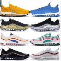 Wholesale bright boots resale online - 2019 Newest Red Leopard Bright Citron Gold Silver Bullet OG Men Running Shoes Blue Tennis s Women Designer Sports Sneakers Size