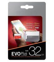 free dhl 2019 100% real 32GB 64GB 128GB Micro SD Memory Card EVO Class 10 for Smartphones Camera Galaxy Note 7 8 Sfree