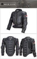 ingrosso fuori pullover spalla-Tuta da gara Knee-shoulder Motorcycle Jersey Anti-caduta traspirante Racing Armor Abbigliamento off-road Racing Suit Riding Protective Gear Man