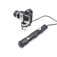 eixo gopro cardan venda por atacado-Freeshipping Zhiyun Z1-Rider Handheld 3-Axis Portátil BL Steady Gimbal para Gopro Hero3 3 + 4 SJ4000