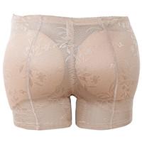 popo kaldırıcı iç çamaşırı toptan satış-Popo Arttırıcı ve Kalça Bayan Ganimet Yastıklı İç Külot Vücut Şekillendirici Dikişsiz Butt Kaldırıcı Külot Boyshorts Shapewear