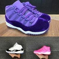 huge selection of 1ba04 3b56d Concord 11 Scarpe da basket per bambini Boy Retro Scarpe sportive da  bambino Sneakers per bambini Gym Red Chicago Midnight Navy Girls Scarpe da  ginnastica ...