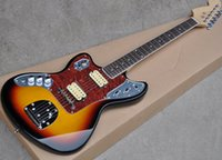 Wholesale left handed electric guitar oem for sale - Group buy OEM Custom Left Handed Sunset Color Electric Guitar with Rosewood Fretboard Humbuckers Pickups offering customized service