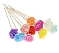 Wholesale rattan sticks for sale - Group buy Lychee Rattan Fragrance Diffuser Replacement Refill Sticks Artificial Flower Stick Incense Home Decoration