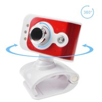 Wholesale smallest webcam resale online - Rotatable Universal Small Webcam HD Square MP Computer Camera lights Built in Microphone for Desktop Laptop USB Plug