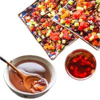 Wholesale fruit teas resale online - Chinese Herbal tea Dried Fresh Handmade Roselle mixed fruit block Chinese Special Tea In bulk New scented tea Top Grade Healthy Green Food