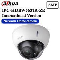 dahua ip dome kamera großhandel-Kostenloser Versand DAHUA Sicherheit IP-Kamera 6MP WDR IR-Dome-Netzwerk-Kamera IPC-HDBW5631R-ZE