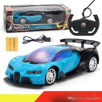 Wholesale glow boy toys resale online - 1 channel remote control car collection channel remote control car on the remote control rechargeable night glow boy child toy gift
