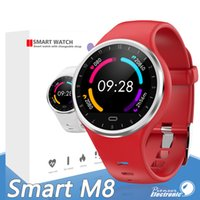 Wholesale korean silicone bracelets for sale - Group buy M8 Bracelet smartwatch Fitness Tracker Silicone Strap Support Sport Heart Rate Health Monitor Bluetooth Wristwatch For Huawei Apple