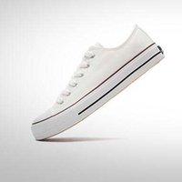 модная обувь корейский стиль мужчины оптовых-Горячие 2019 последние модные повседневные туфли низкий / высокий холст обувь мужчины / женщины корейский стиль весной и осенью обувь
