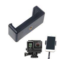 selbststichhalter großhandel-Kamera Stativ Zubehör Langlebig Telefon Clip Halterung Halter Halterung Für Selfie Stick Stativ Einbeinstativ